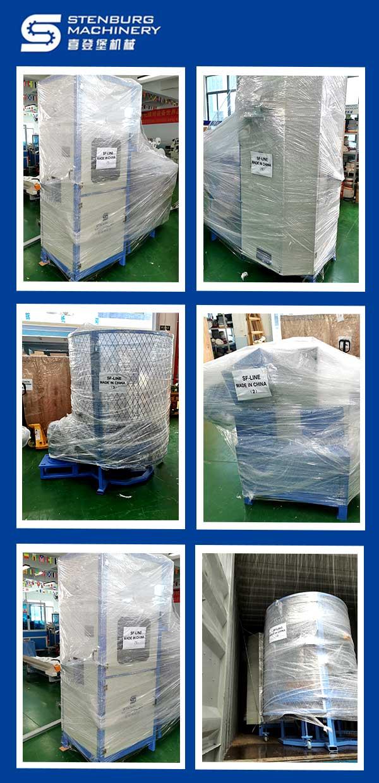 Línea de producción automática de resortes en zig-zag para sofás tipo S